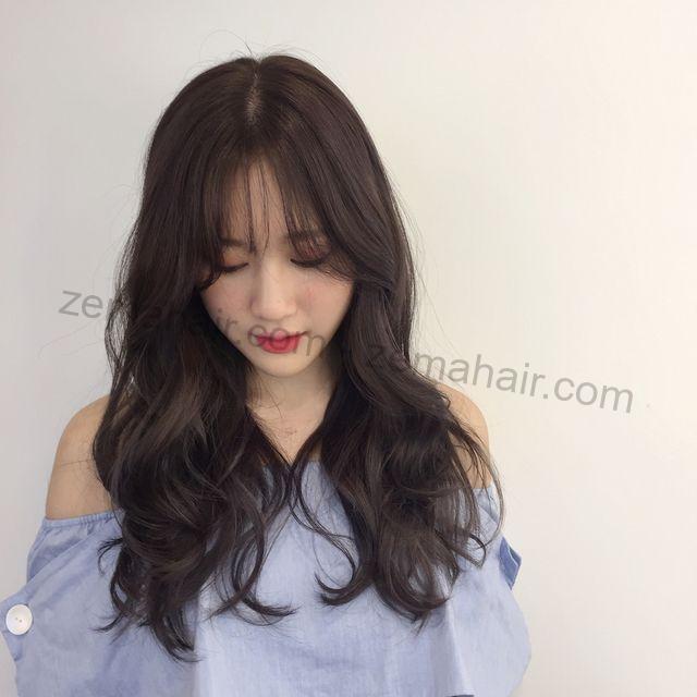 Sành điệu với kiểu tóc xoăn gợn sóng lọn to dễ thương
