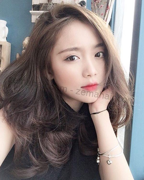 Ngọt ngào với tóc xoăn lọn to đẹp Hàn Quốc