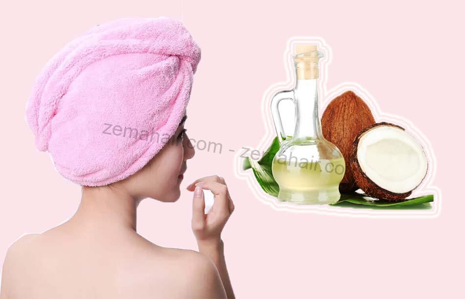Dầu dừa giúp tóc dày dơn