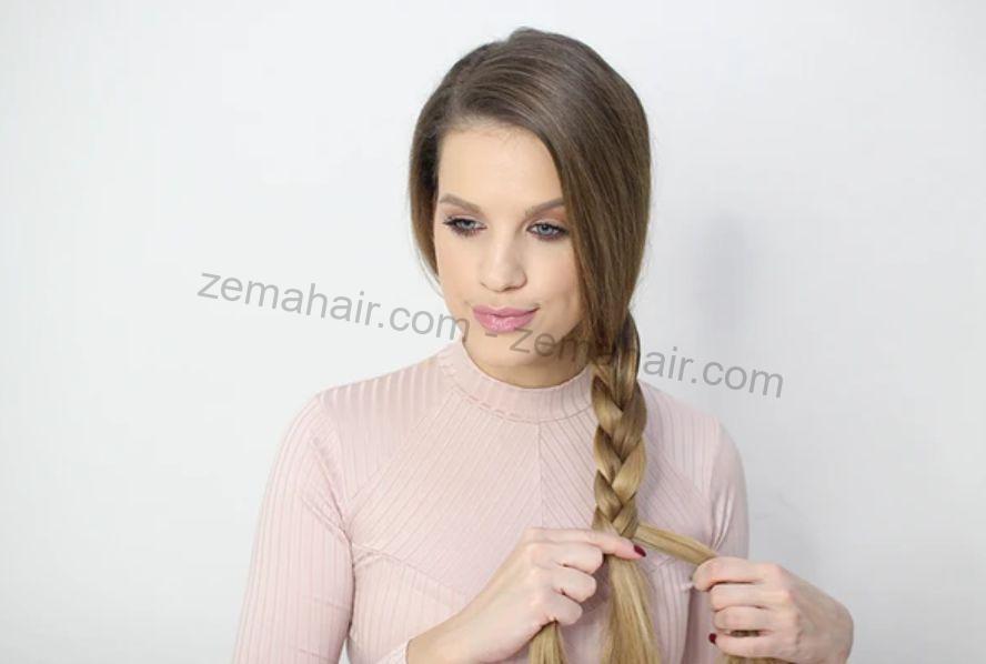 Tết tóc đuôi cá nhẹ nhàng nữ tính cho cô nàng