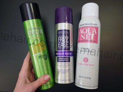 Keo xịt giúp giữ nếp tóc của bạn