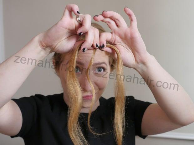 Đảm bảo tóc bằng dây chun