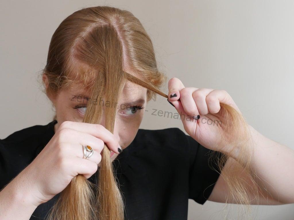 Di chuyển các phần tóc với nhau