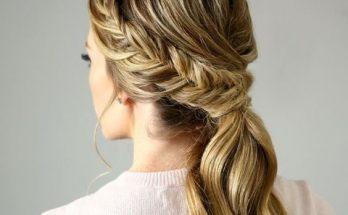Kiểu tết tóc đẹp đơn giản