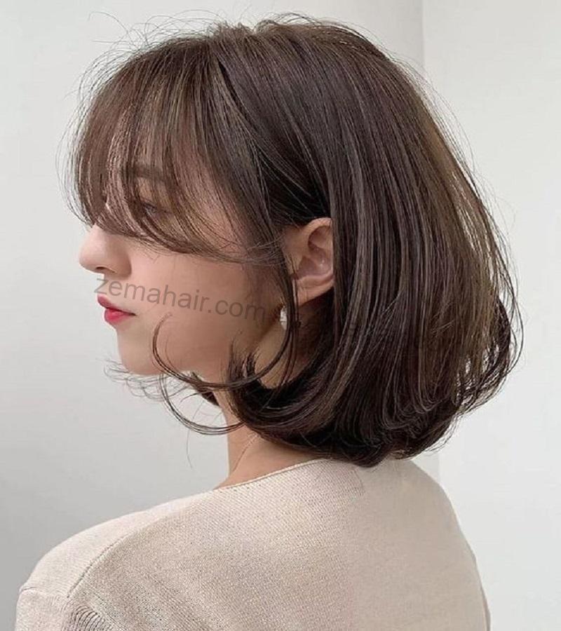 Kiểu tóc bob kết hợp mái thưa hình 5