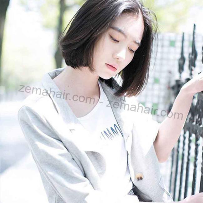 Kiểu tóc mái dài cho khuôn mặt tròn dẫn đầu xu hướng hiện nay