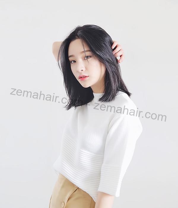 Tóc mái dài ngang vai thu hút ánh nhìn người đối diện