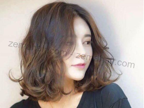 Kiểu tóc ngắn cho mặt tròn đẹp nhất 2021