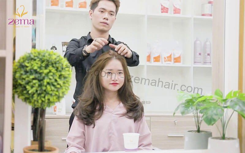 Nhẹ nhàng nữ tính với kiểu tóc xoăn nhẹ kayer