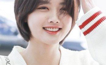 Cùng mái tóc ngắn che khuyết điểm của khuôn mặt tròn nàng nhé!