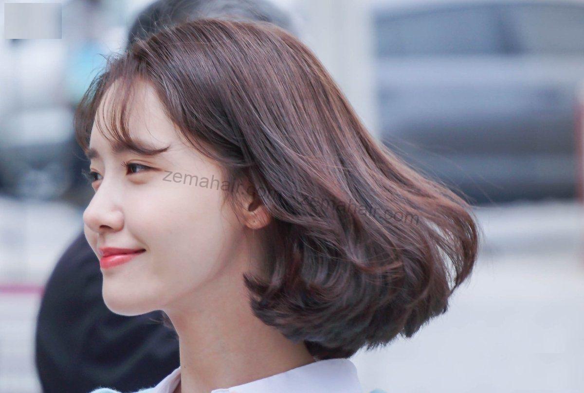 Yoona xinh đẹp với mái tóc ngắn duỗi phồng đẹp mắt