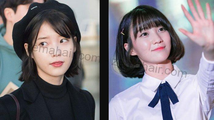 Kiểu tóc ngắn uốn phồng cụp đuôi ngọt ngào cho các cô gái thích phong cách Hàn Quốc