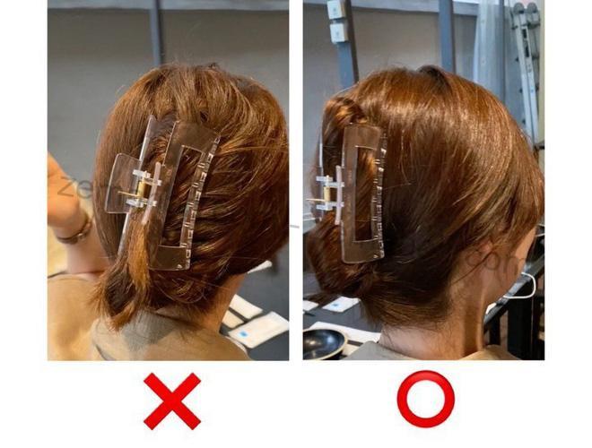 Uốn tóc bằng kẹp càng cua đúng cách