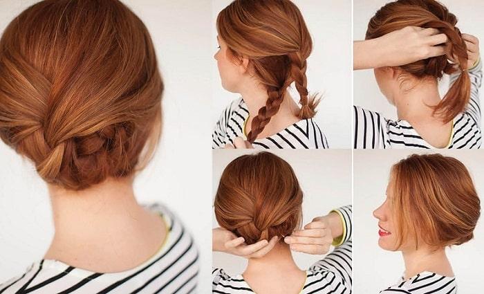 Cách buộc tóc đuôi ngựa đẹp, nữ tính.