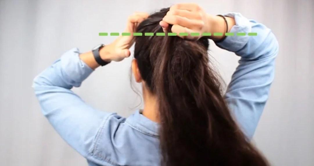 Cách buộc tóc đuôi ngựa cơ bản bạn cần biết.