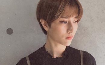 Kiểu tóc tém Hàn Quốc