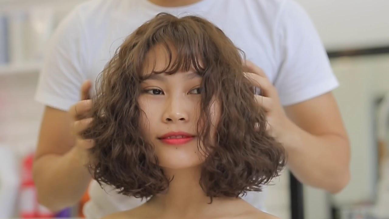 Kiểu tóc xù đẹp cho cô nàng