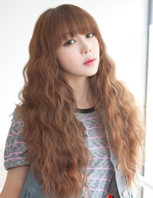 Kiểu tóc xù Hàn Quốc
