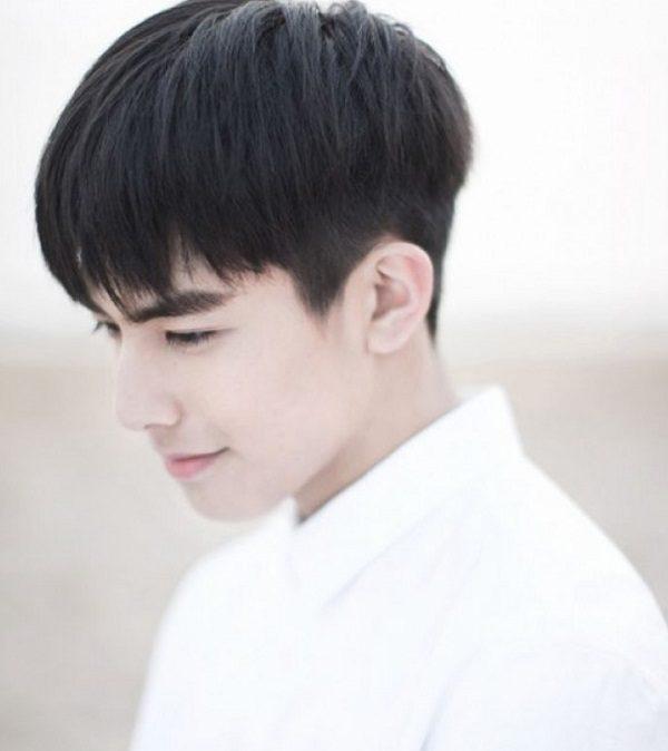 Lãng tử với tóc mái ngố kiểu Hàn