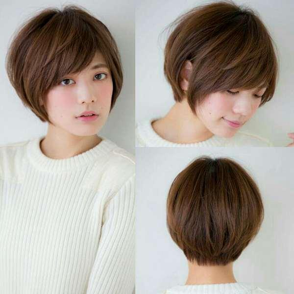 Mái tóc tém uốn phồng dành cho những cô nàng tóc mỏng.
