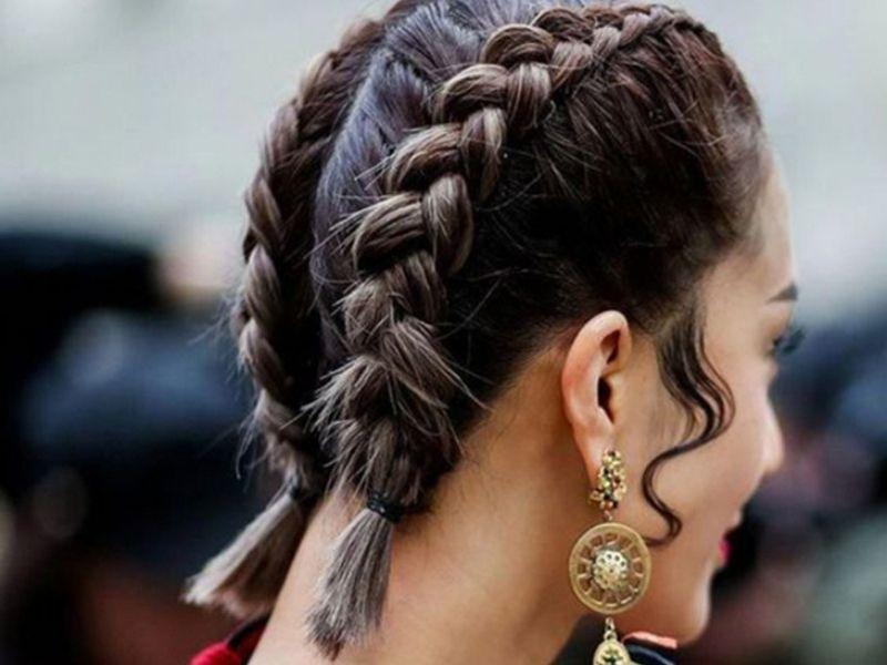 Một trong những kiểu tóc dễ làm cho nữ tóc ngắn