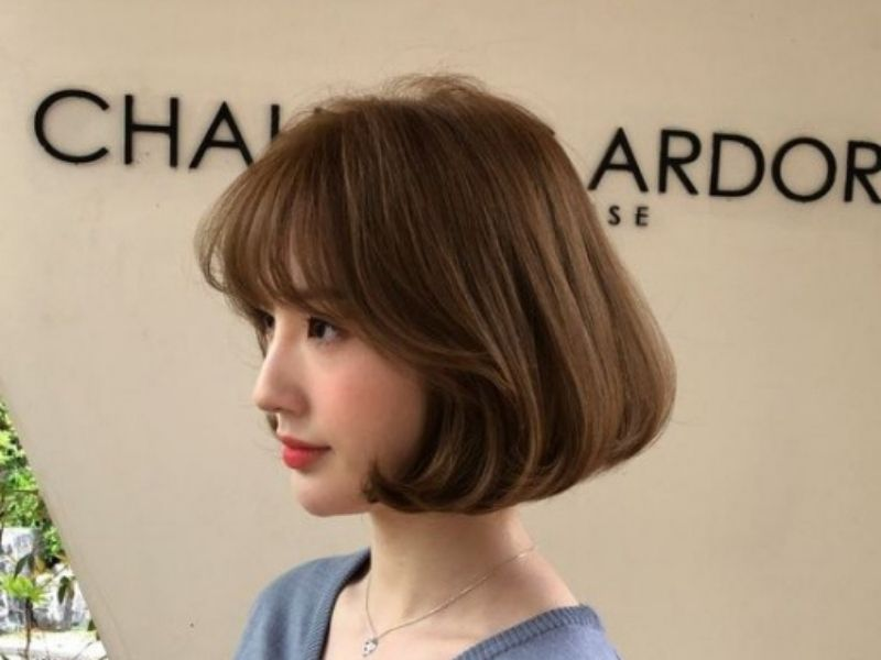 Tóc ngắn bồng bềnh đẹp thu hút mọi ánh nhìn