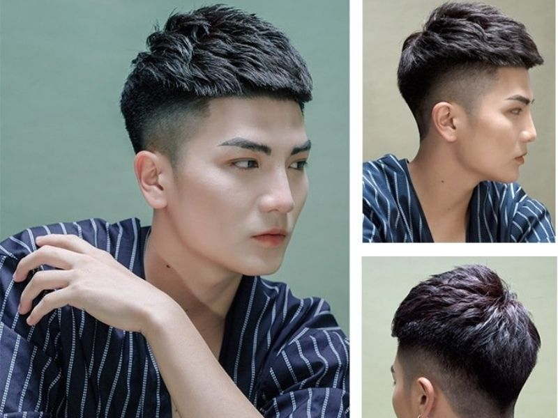 Tóc fade mohican cho nam giới cực kỳ trẻ trung