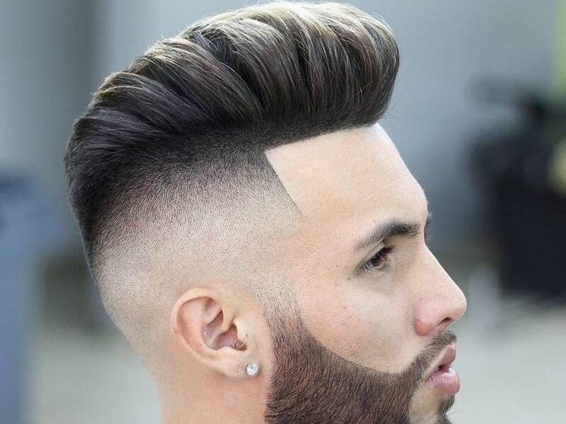 Mái tóc pampadour hot từ châu Âu đến châu Á