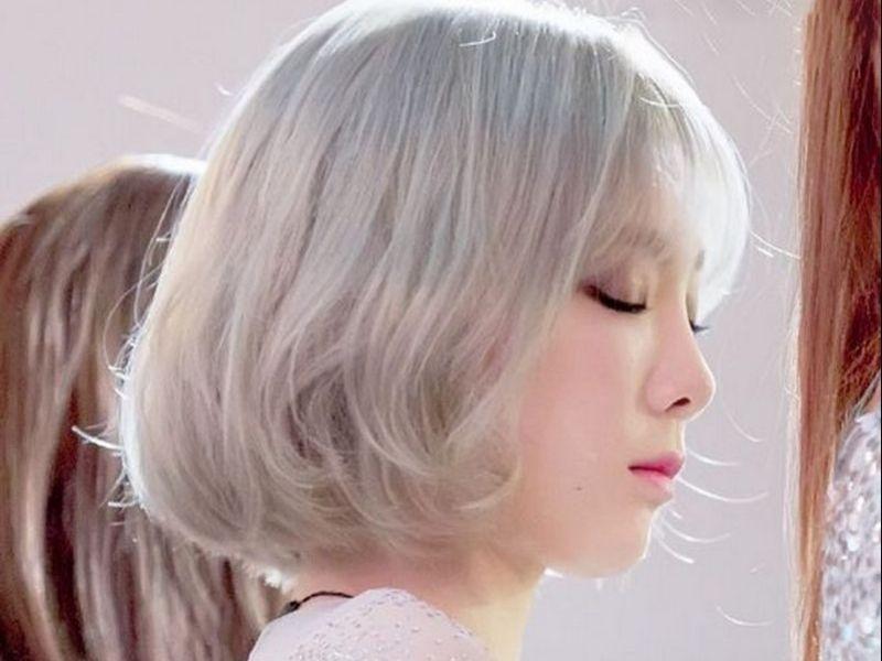 Style bạch kim Hàn chuẩn đẹp như idol