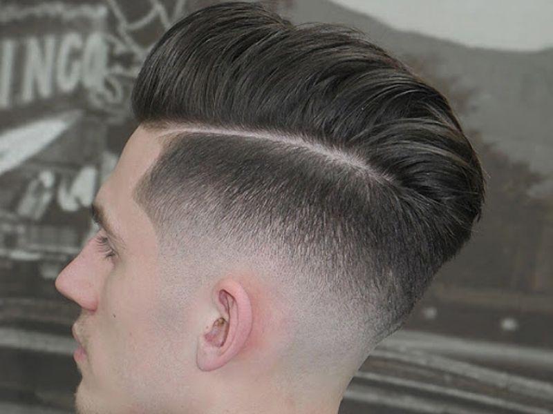 Mẫu tóc nam ngắn hàn Textured crop