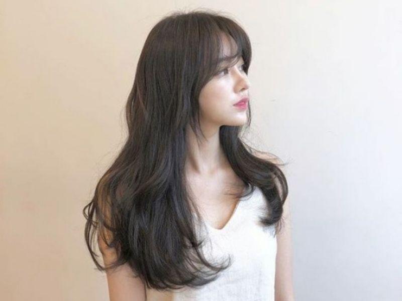 Vẻ đẹp ngọt ngào nhờ mái tóc uốn nhẹ nhàng