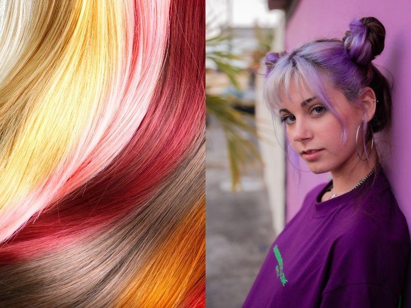 Tone màu tóc phù hợp có thể giúp làm bật sáng tone da