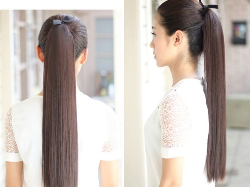 Tóc giả buộc đuôi có rất nhiều ưu điểm
