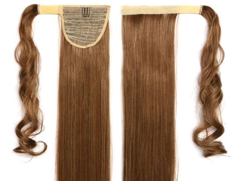 Hướng dẫn buộc tóc đuôi ngựa bằng tóc giả
