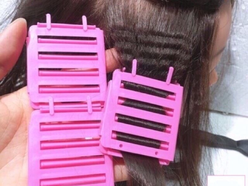 Cách dùng kẹp nhựa làm phồng tóc tự nhiên