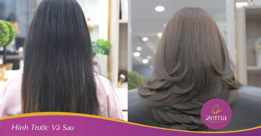 Dịch vụ phục hồi tóc giúp mái tóc chắc khỏe tại Zema Hair