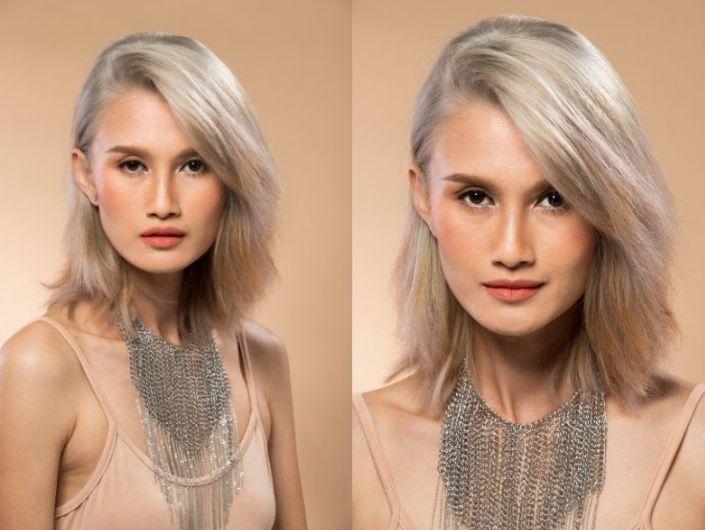 Màu nâu trầm phủ bạc thu hút ánh nhìn