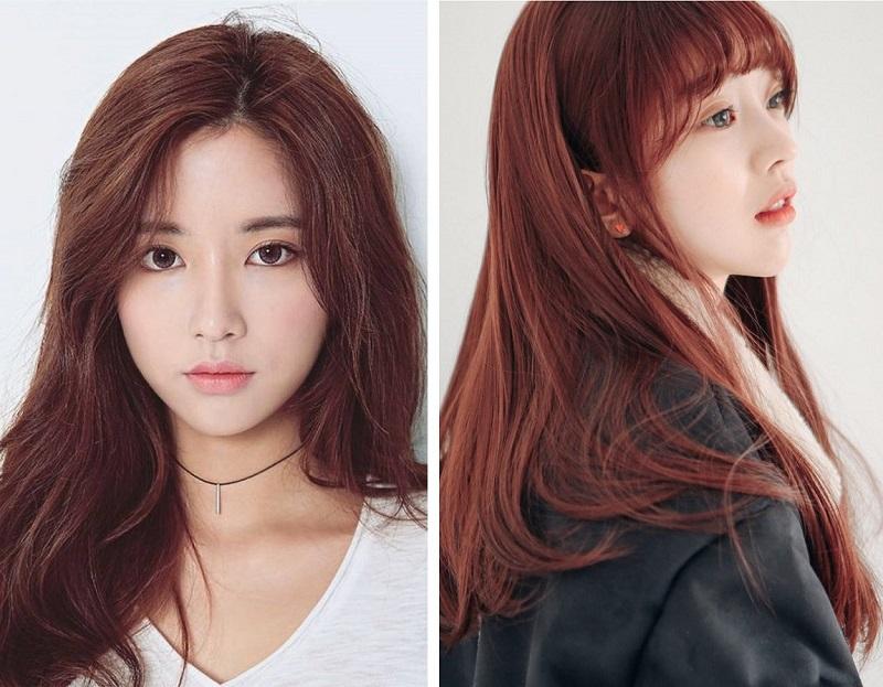 Màu tóc nâu vàng ánh đỏ làm bạn trở nên cuốn hút lạ thường