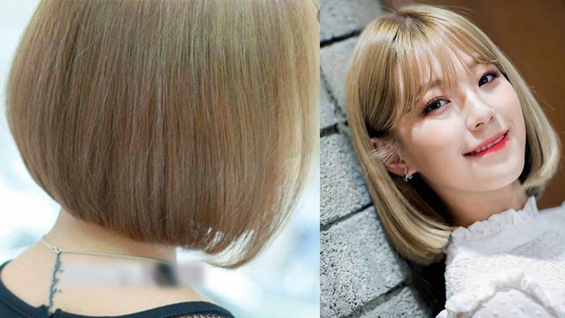 Kiểu tóc màu nâu vàng đẹp nhất hiện nay