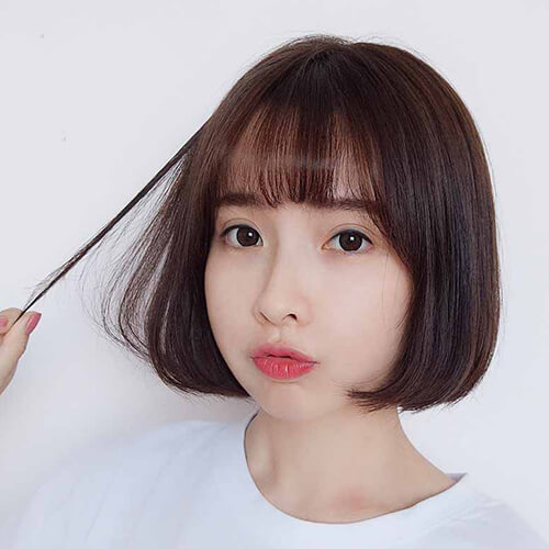 Mái thưa là kiểu mái không bao giờ lỗi thời khi kết hợp với mái tóc ngắn
