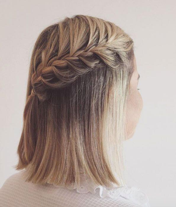 Tạo được nhiều kiểu thắt bím dễ thương vô cùng đa dạng với mái tóc ngắn