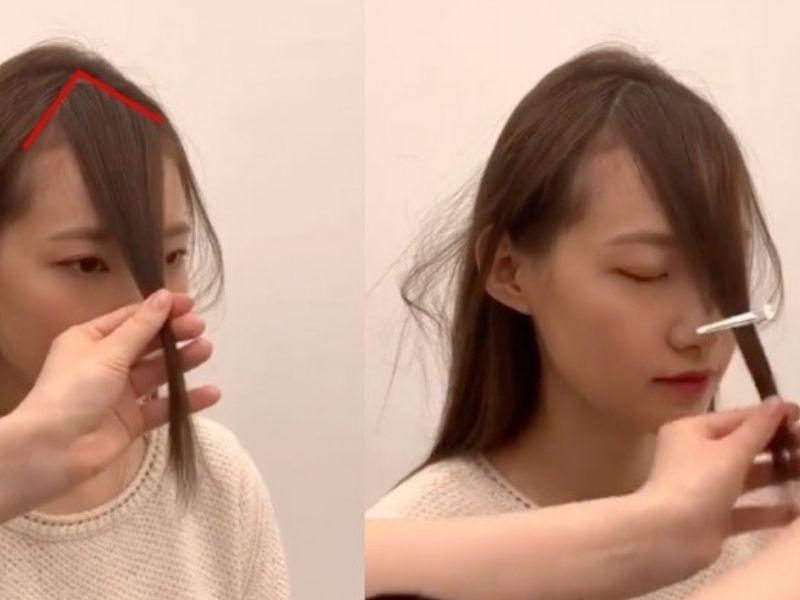Nếu đã biết cách làm bạn sẽ tự tin hơn khi cắt tóc mái tại nhà