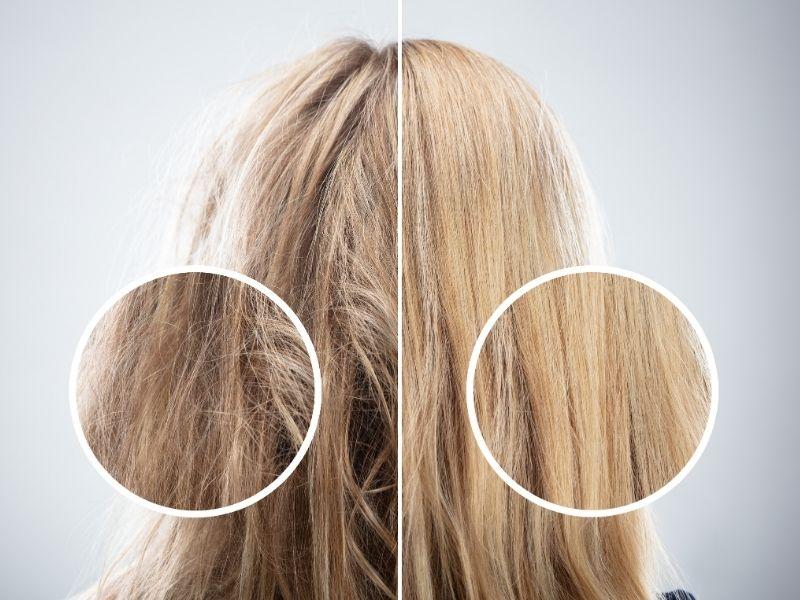 Nguyên nhân tóc xù có thể do thói quen chăm sóc tóc