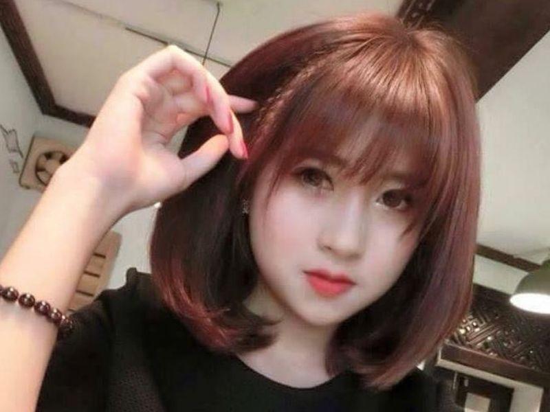 Tóc bấm xù bên trong để làm phồng tóc