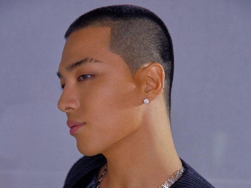 Tóc đầu đinh style Hàn Quốc đầy mạnh mẽ
