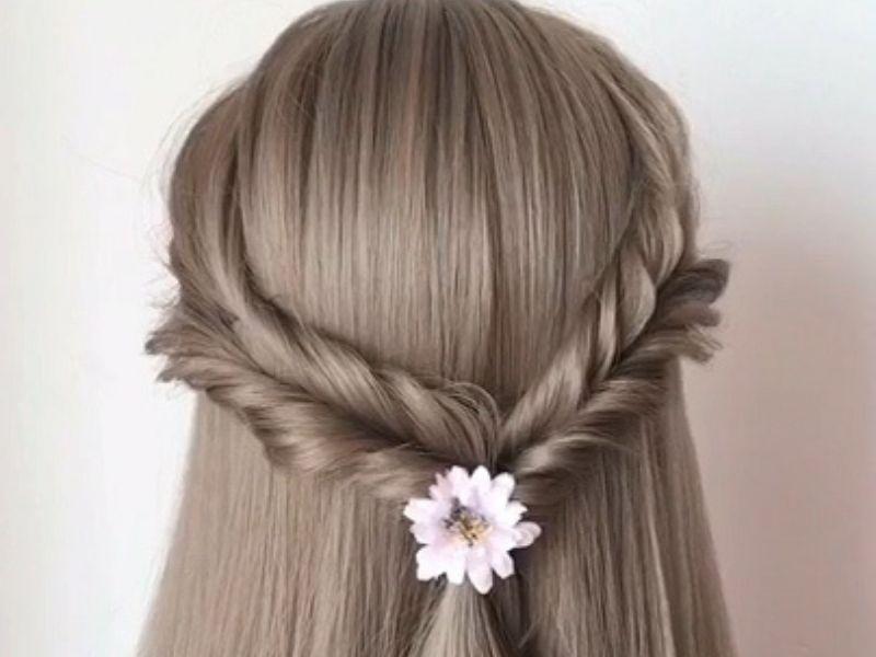 Những chiếc phụ kiện nhỏ xinh sẽ giúp tóc tết thêm phần nổi bật