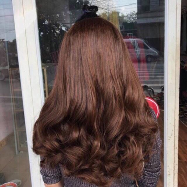 Uốn setting giúp tóc dễ vào nếp