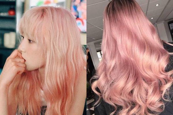 Cách nhuộm tóc màu hồng tại nhà