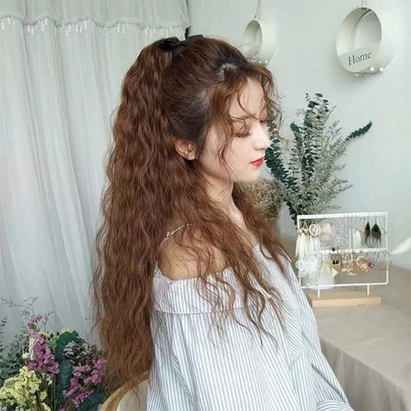 Uốn xù đũa là mái tóc đẹp độc đáo và khác biệt
