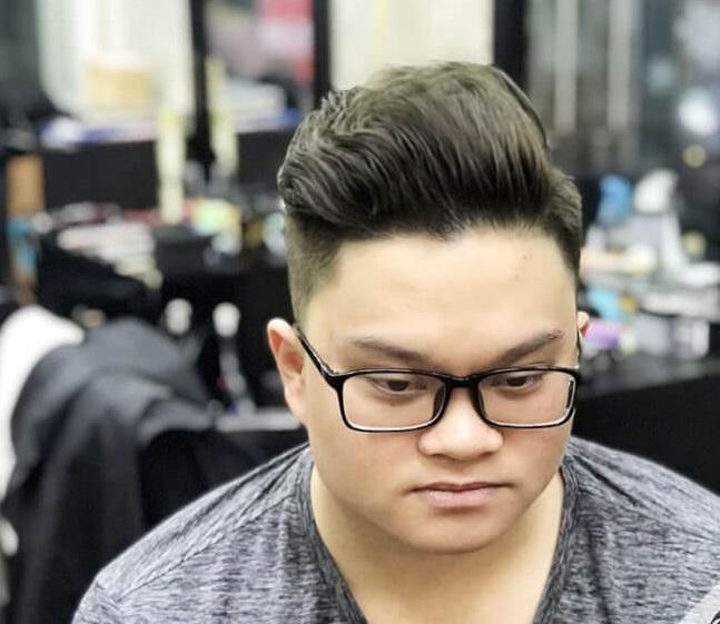 Kiểu tóc khiến các bạn nam mặt tròn trở nên lịch lãm hơn